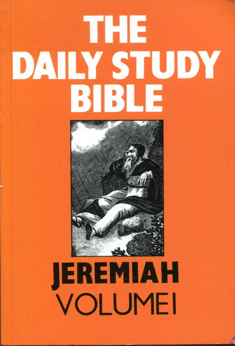 Image for Jeremiah: volume I (Daily Study Bible)