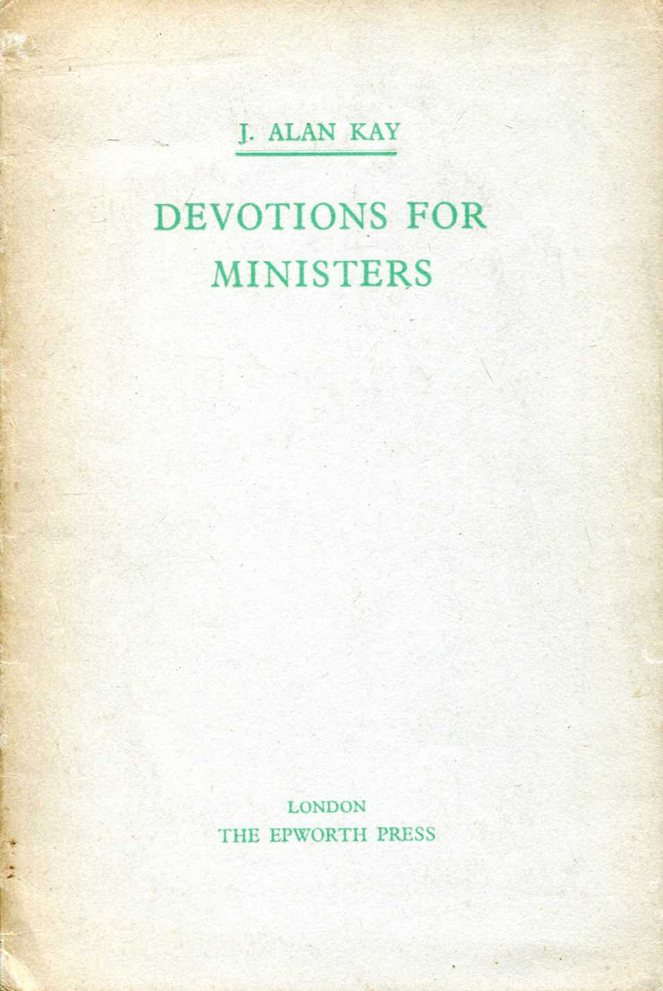Image for Devotions for Ministers
