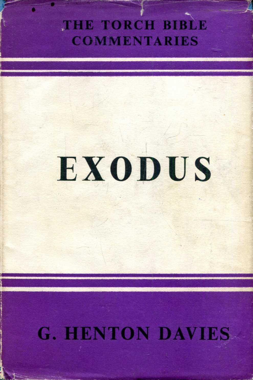 Image for Exodus : Introduction and Commentary (Torch Bible Commentary)