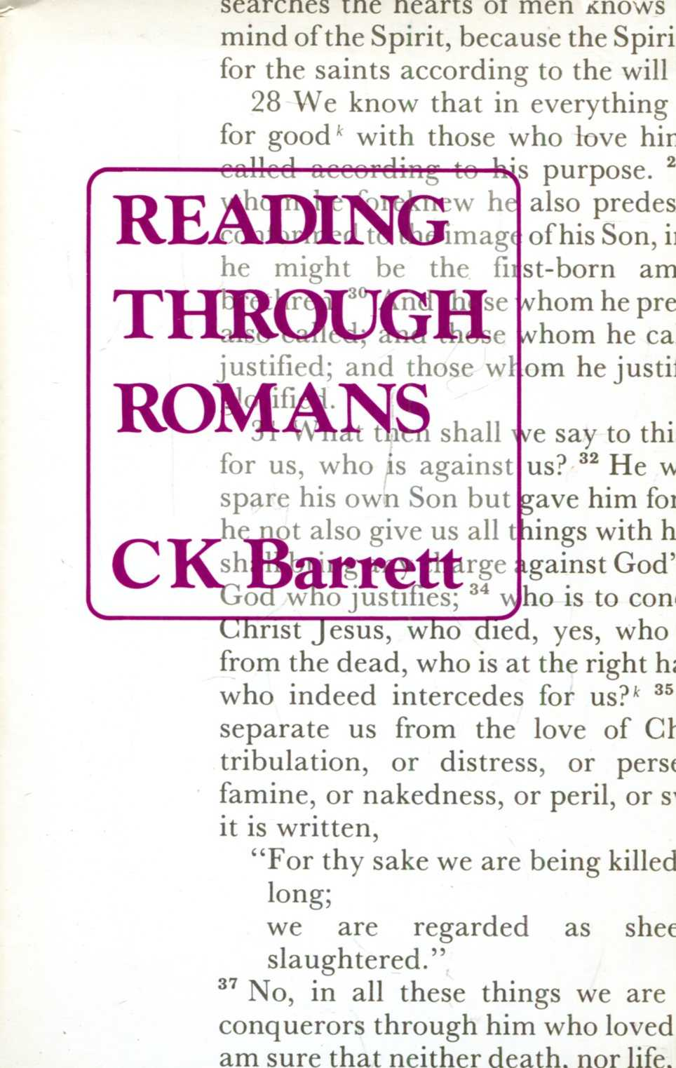 Image for Reading Through Romans