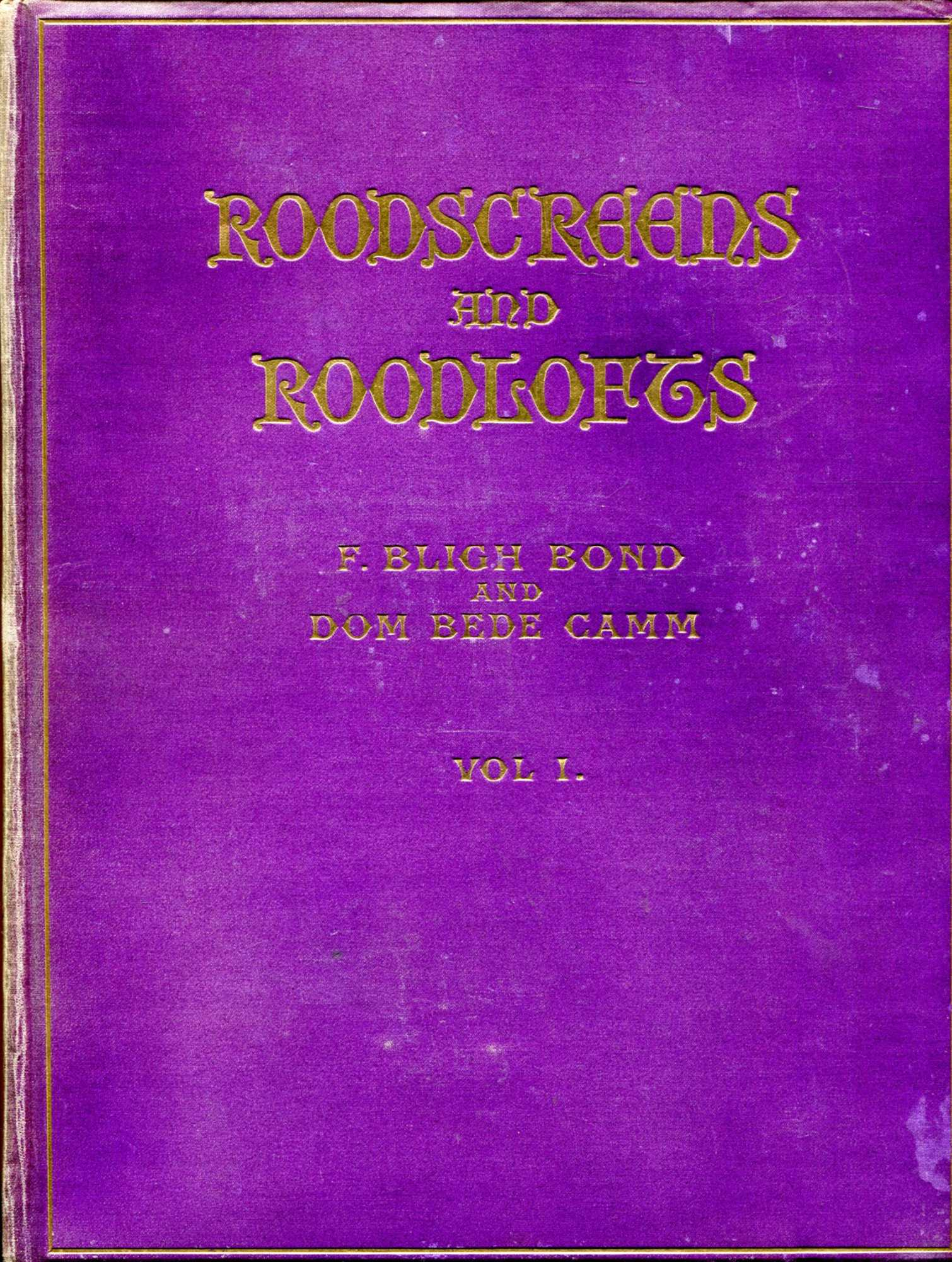 Image for Roodscreens and Roodlofts (two volumes complete)