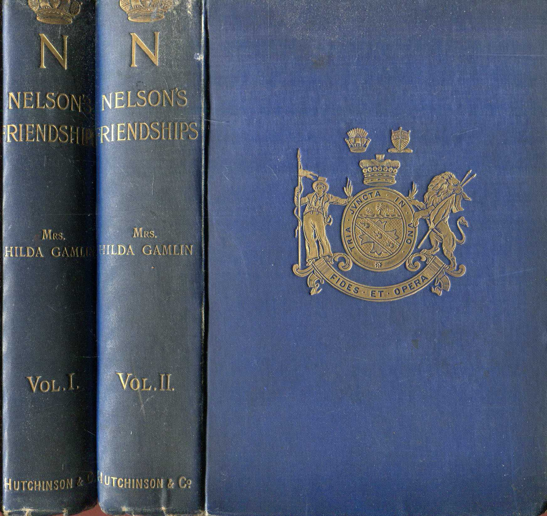 Image for Nelson's Friendships (two volumes complete)
