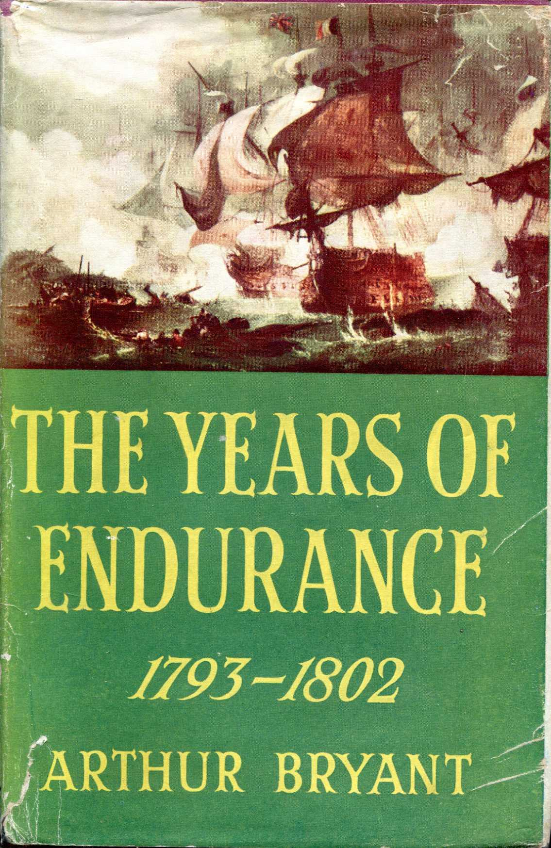Image for The Years of Endurance 1793-1802
