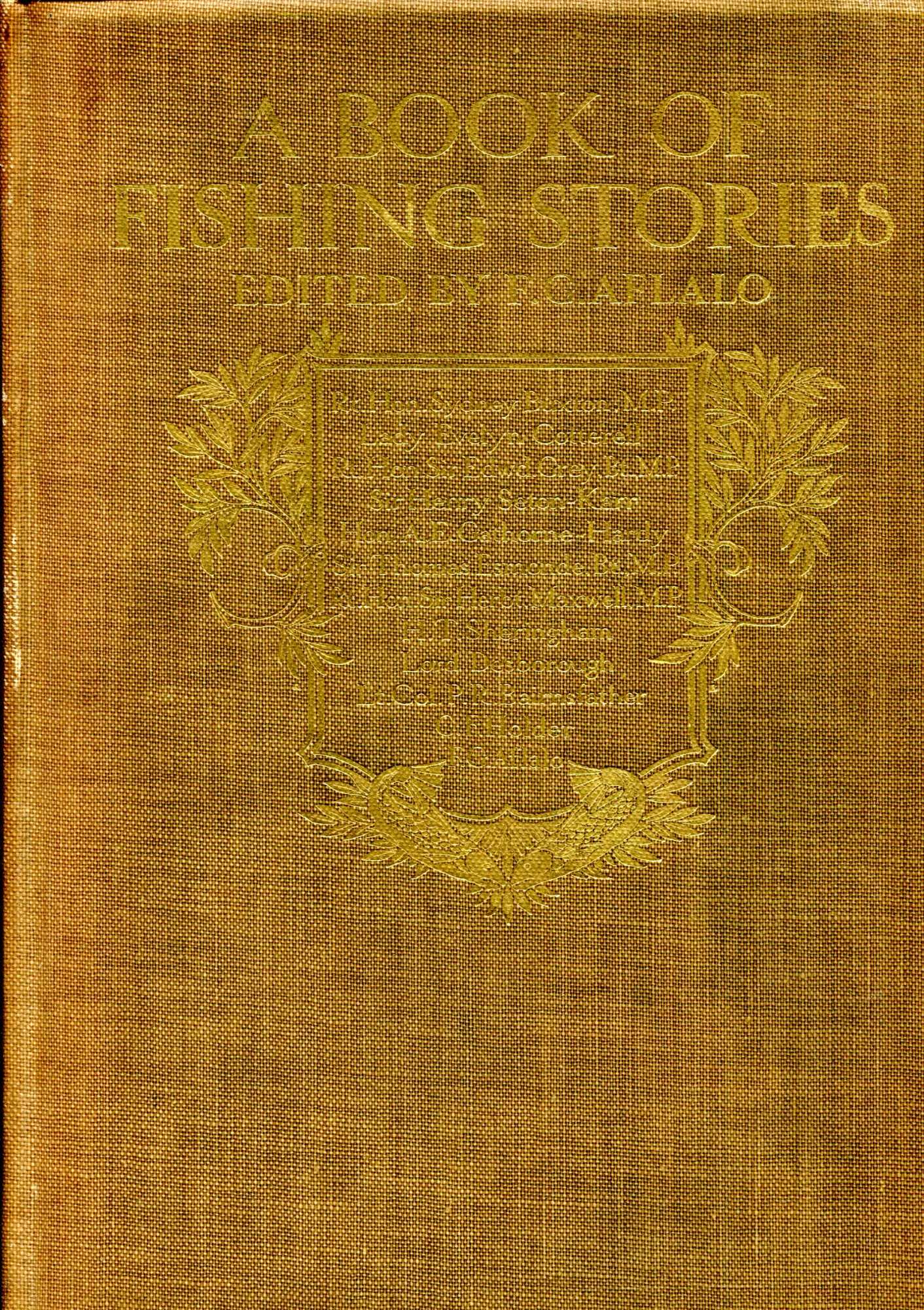 Image for A Book of Fishing Stories