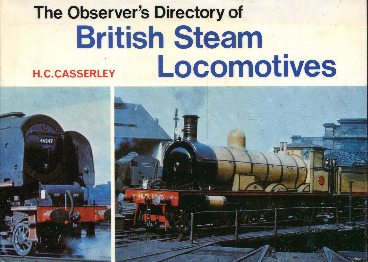 Image for The Observer's Directory of British Steam Locomotives