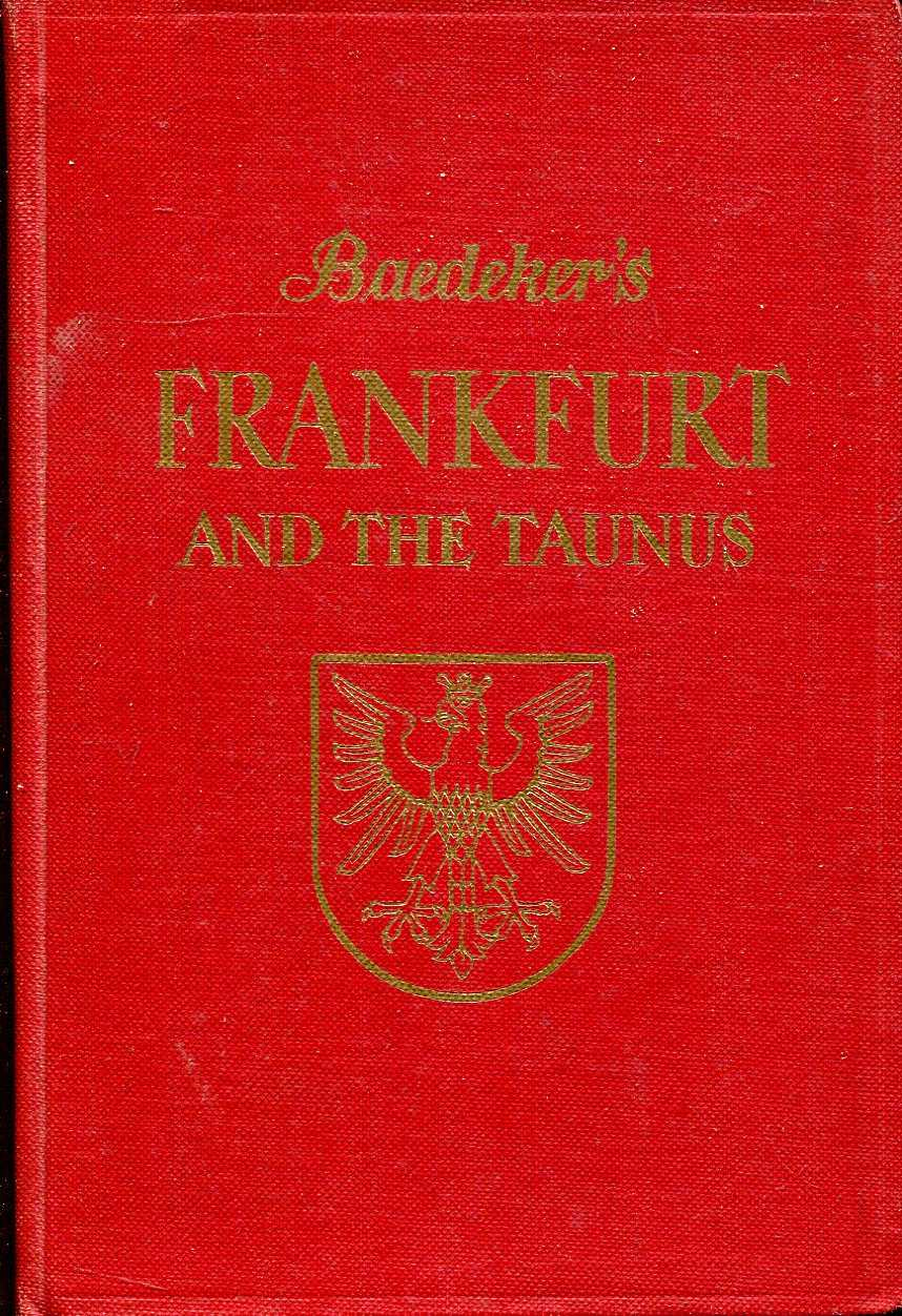 Image for Frankfurt and the Taunus : Handbook for Travellers