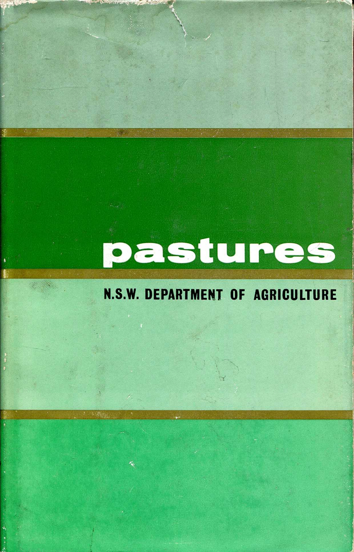 Image for The Farmers' Handbook Series : Pastures