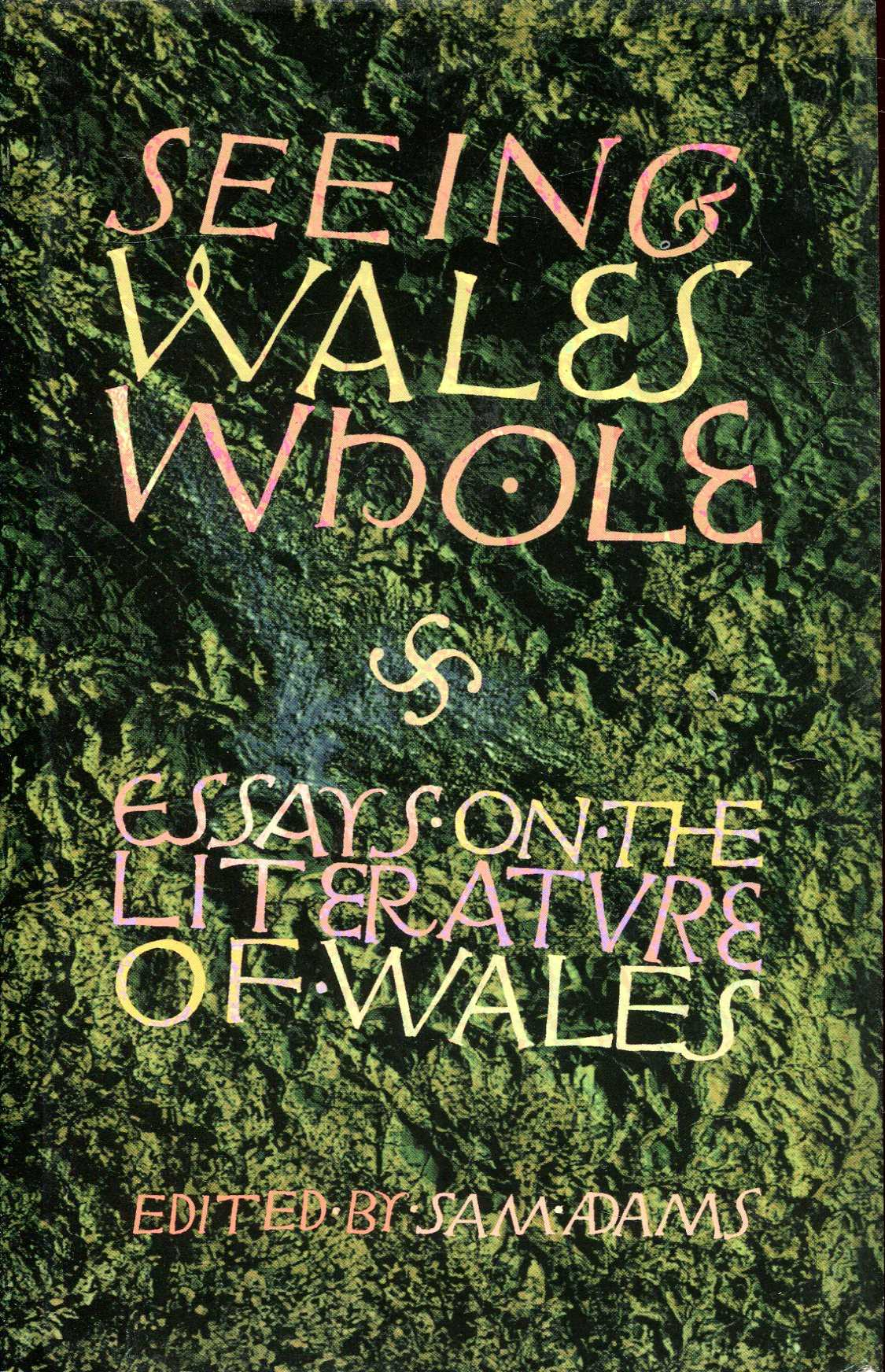 Image for Seeing Wales Whole: Essays on the Literature of Wales