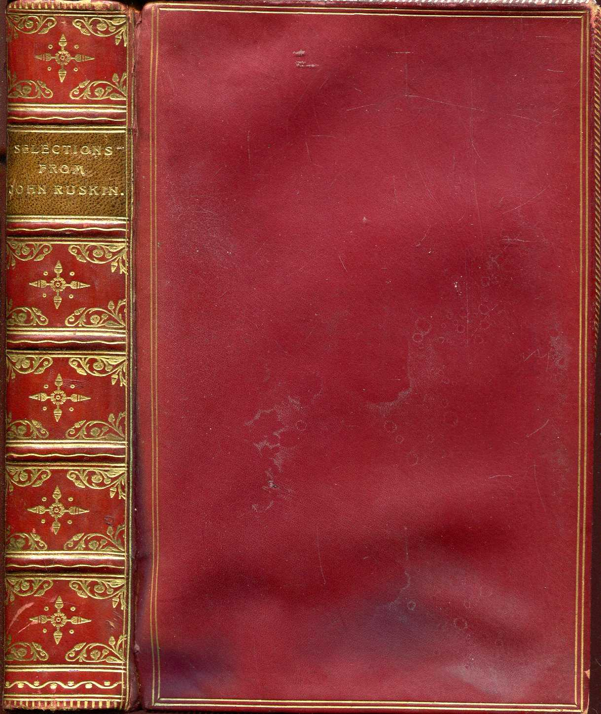 Image for Selections from the Writings of John Ruskin
