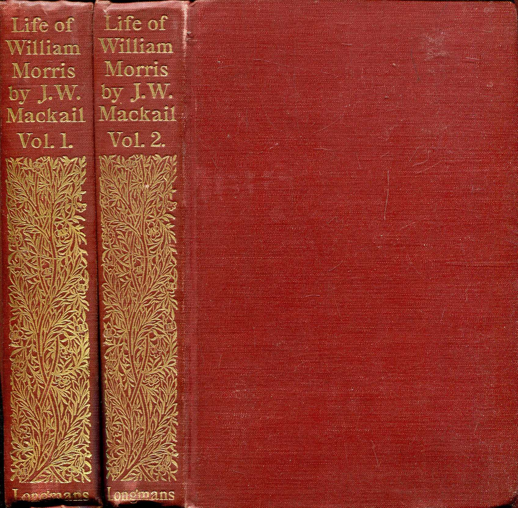 Image for The Life of William Morris (two volumes complete)