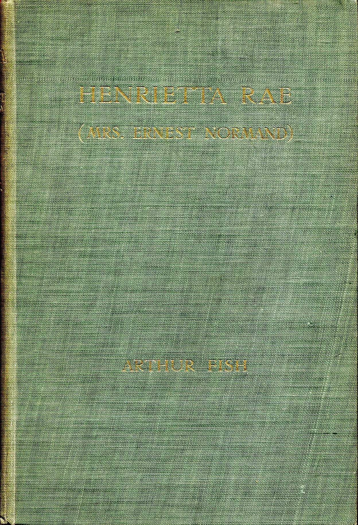 Image for Henrietta Rae (Mrs Ernest Normand)