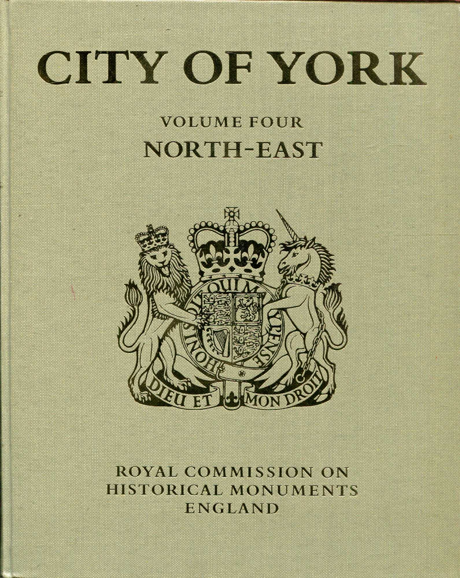 Image for An Inventory of the Historical Monuments in the City of York volume iv : Outside the City Walls : East of the Ouse