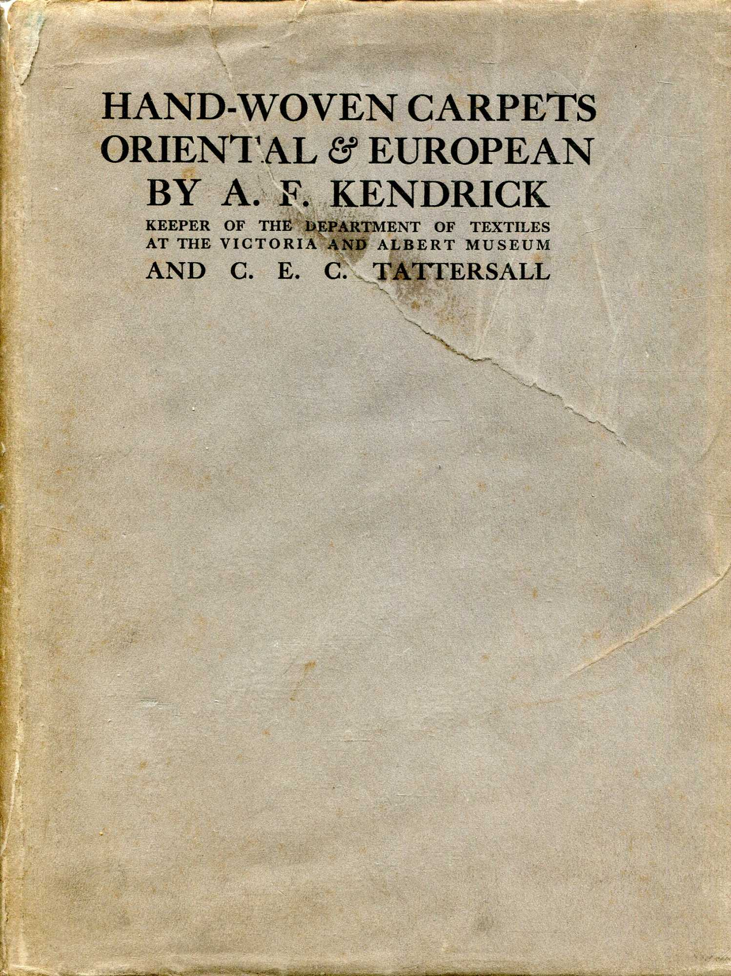 Image for Hand-Woven Carpets Oriental & European (two volumes complete)