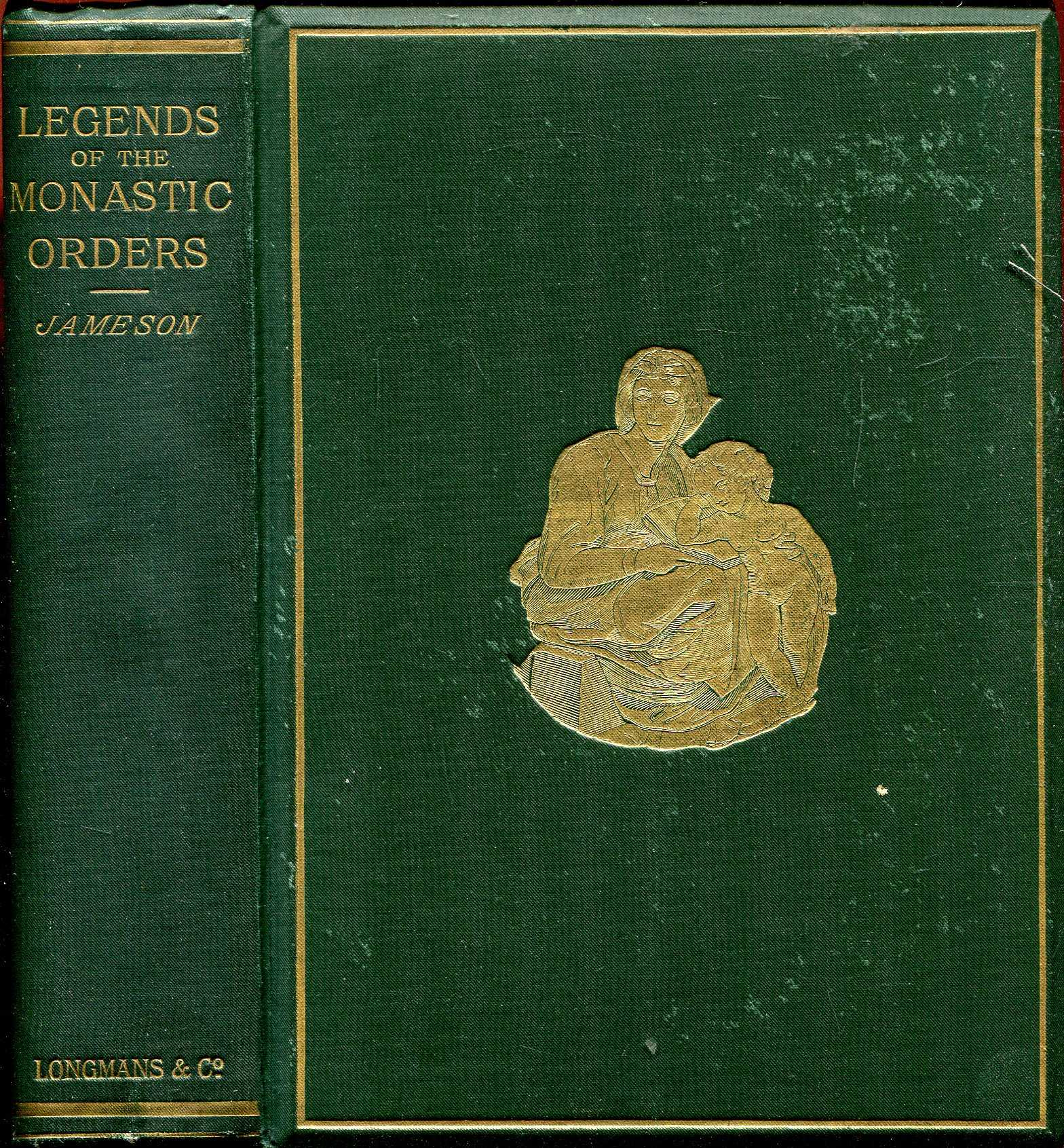 Image for Legends of the Monastic Orders as represented in the Fine Arts