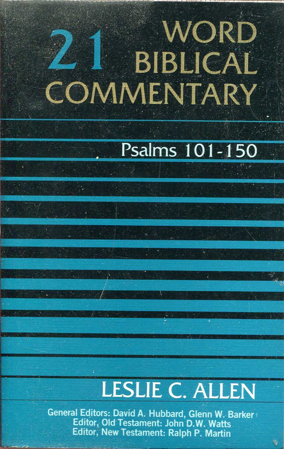 Image for Word Biblical Commentary volume21 : Psalms 101-150