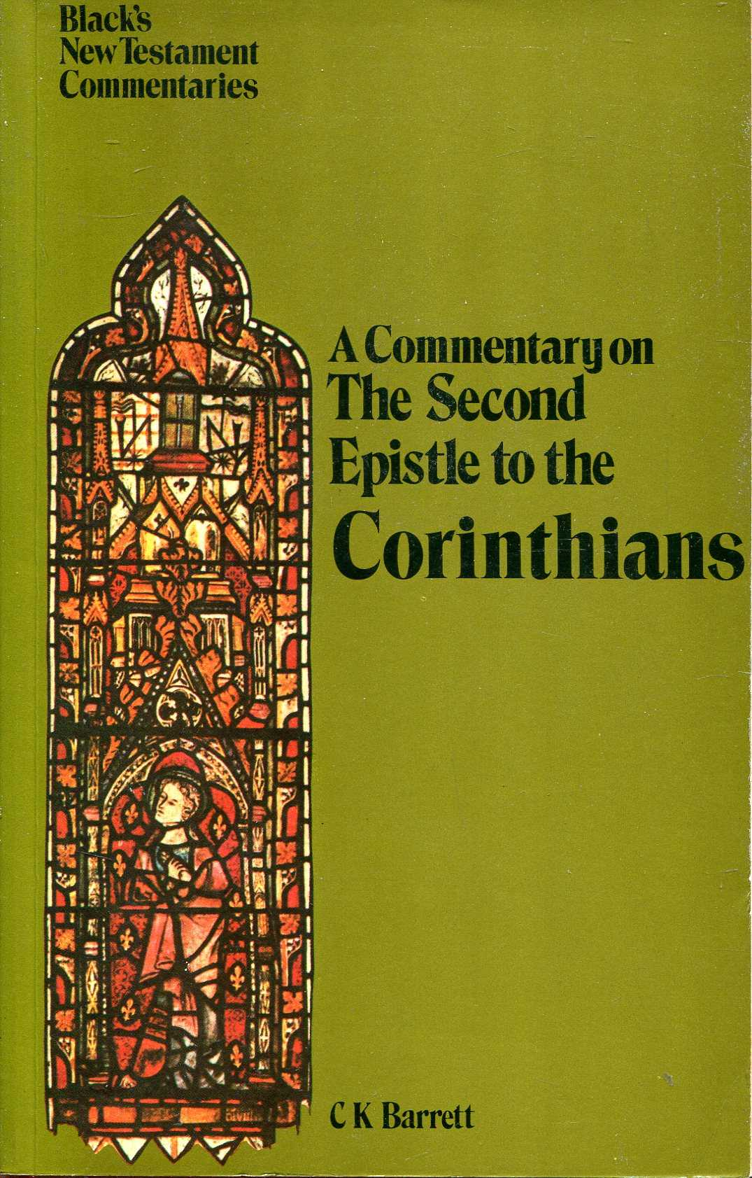 Image for A Commentary on The Second Epistle to the Corinthians