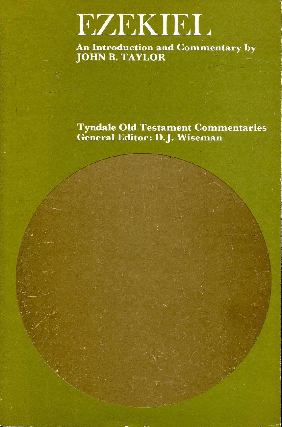 Image for Ezekiel : An Introduction and Commentary (Tyndale Old Testament Commentary Series)