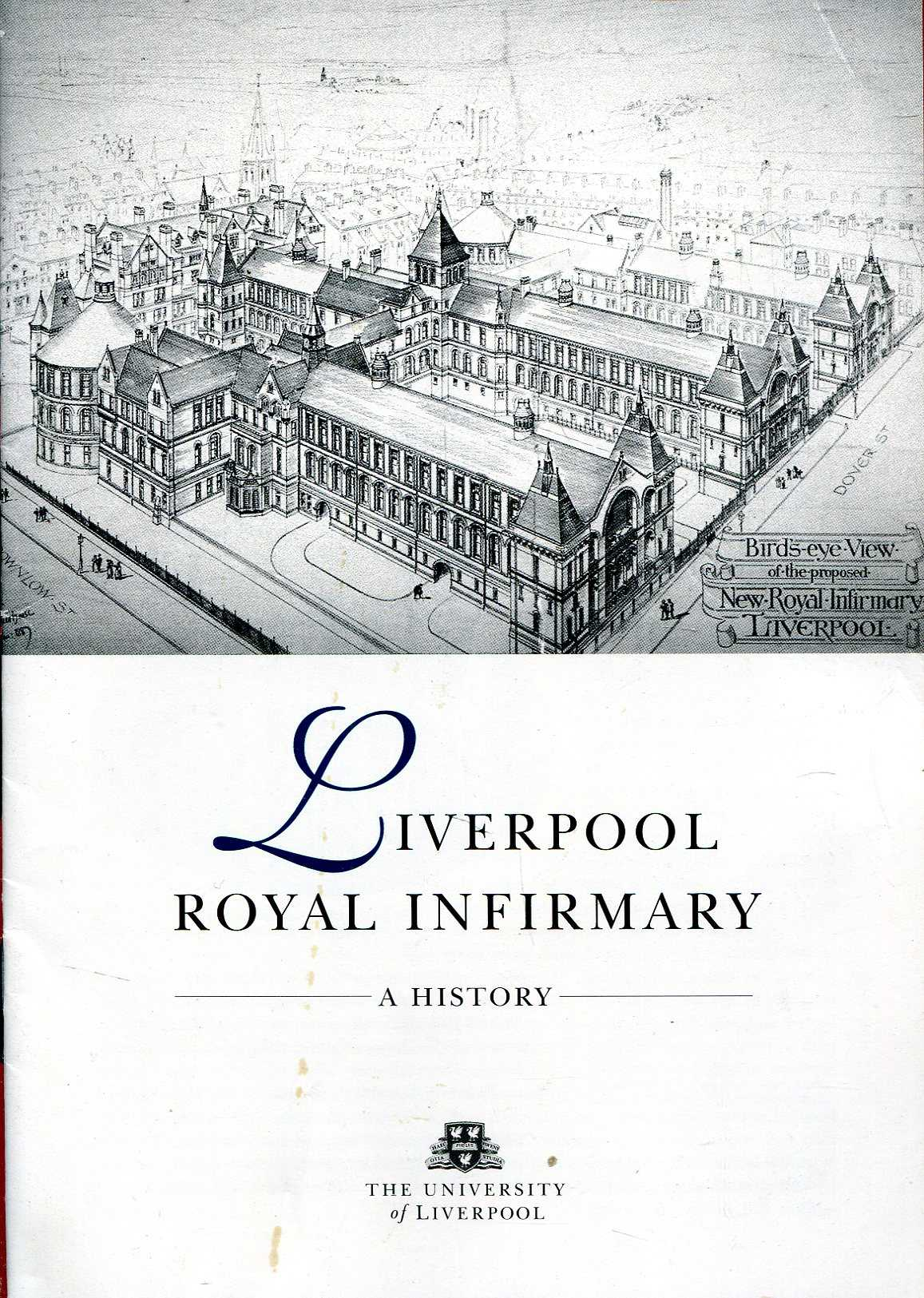 Image for Liverpool Royal Infirmary - a history