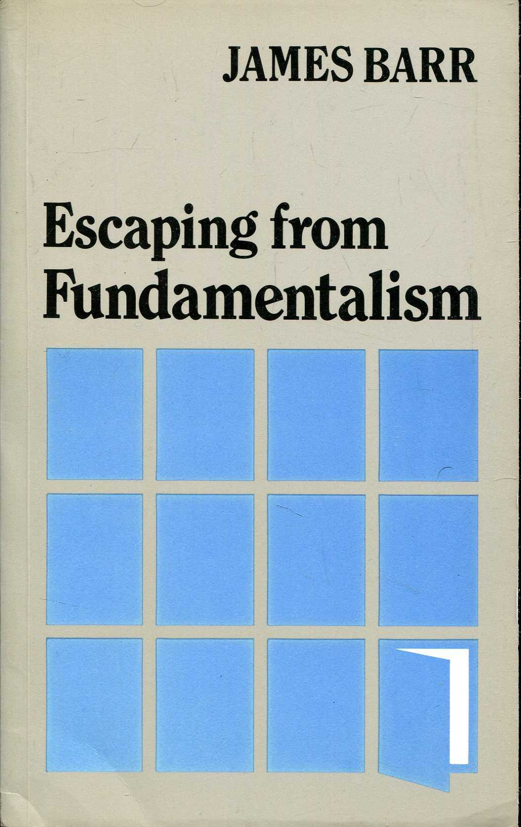 Image for Escaping from Fundamentalism
