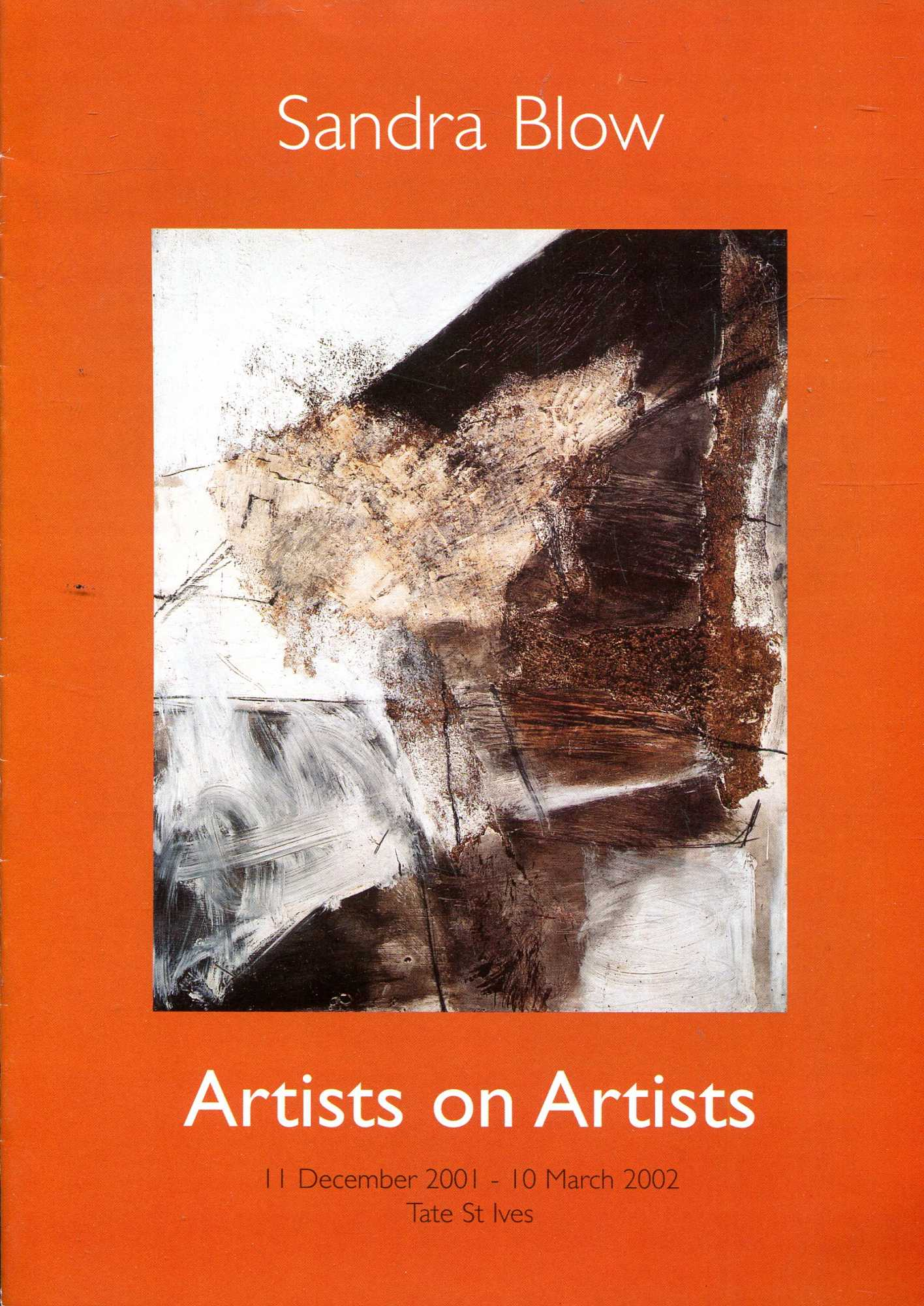 Image for Sandra Blow : Artists on Artists, 11 Dec 2001 - 10 March 2002, Tate St Ives