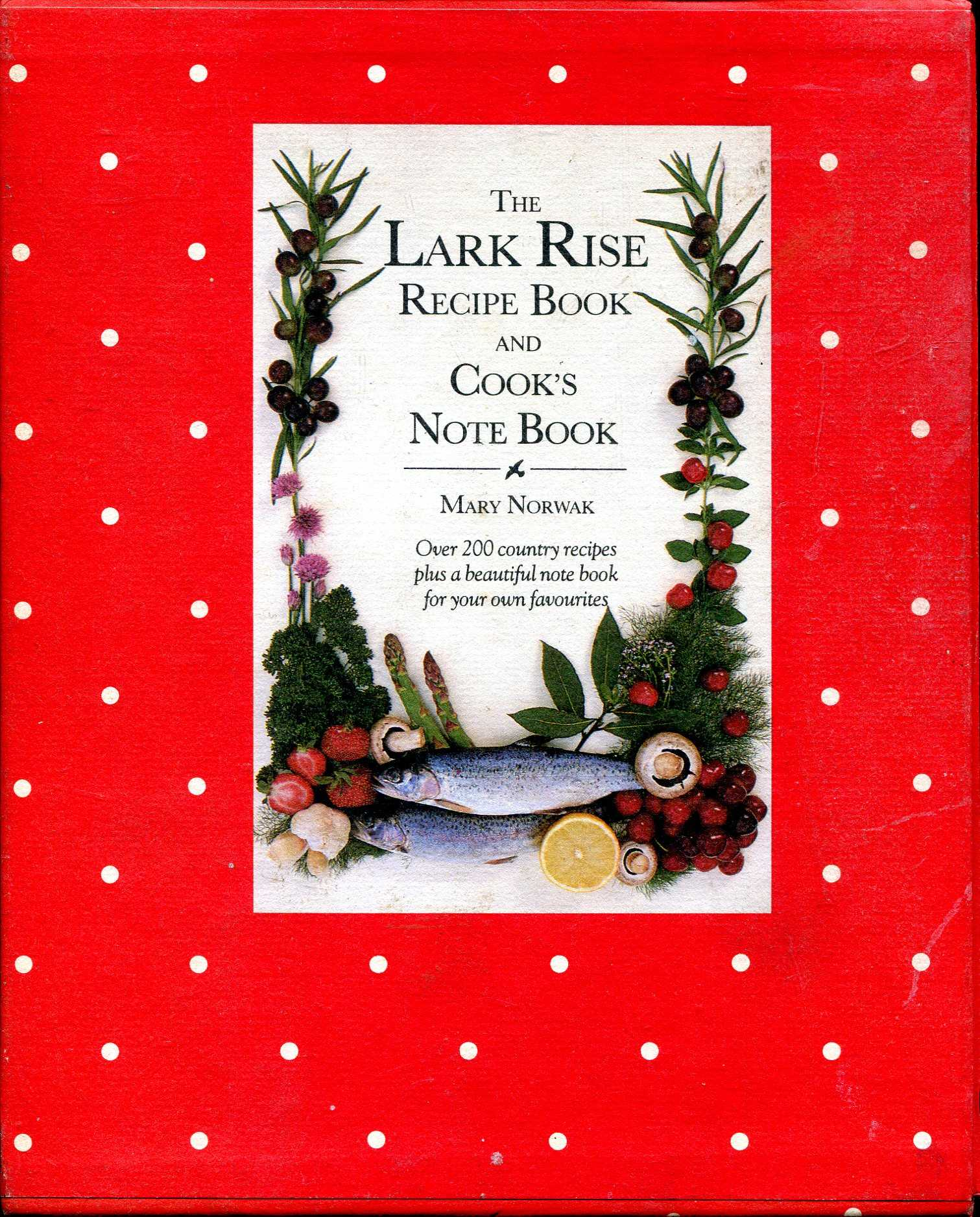 Image for Lark Rise Recipe Book and Cook's Note Book (two volumes complete)