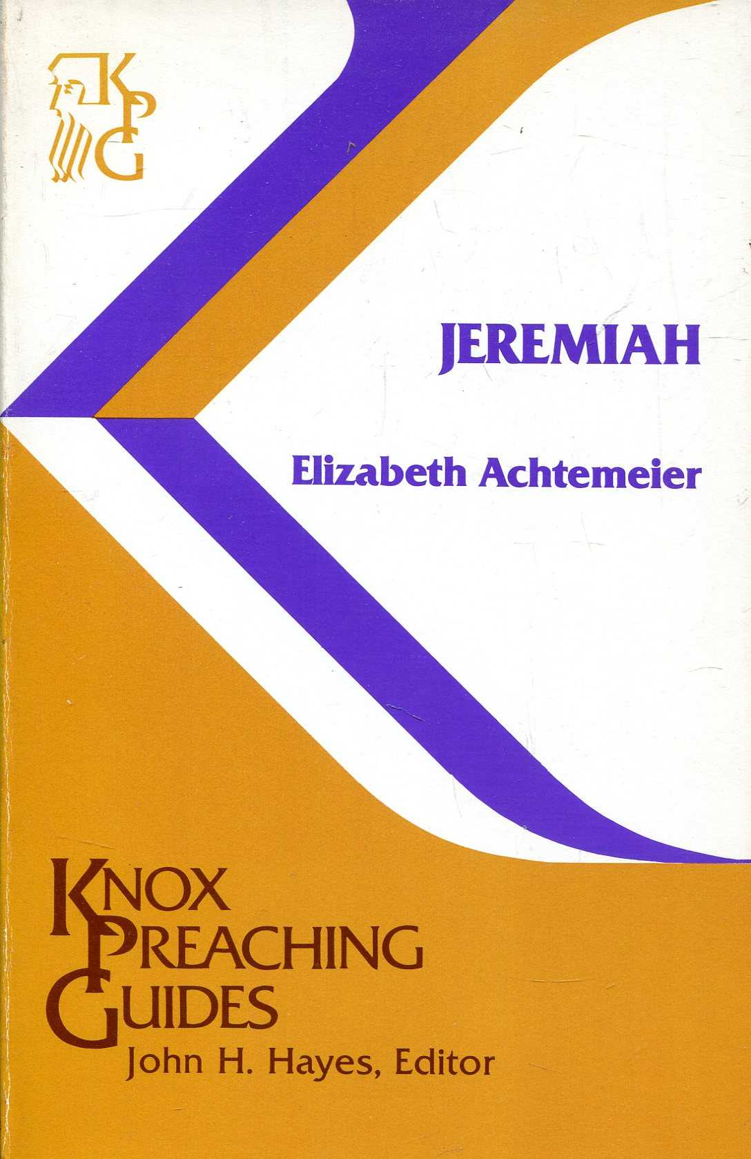 Image for Jeremiah (Knox Preaching Guides)