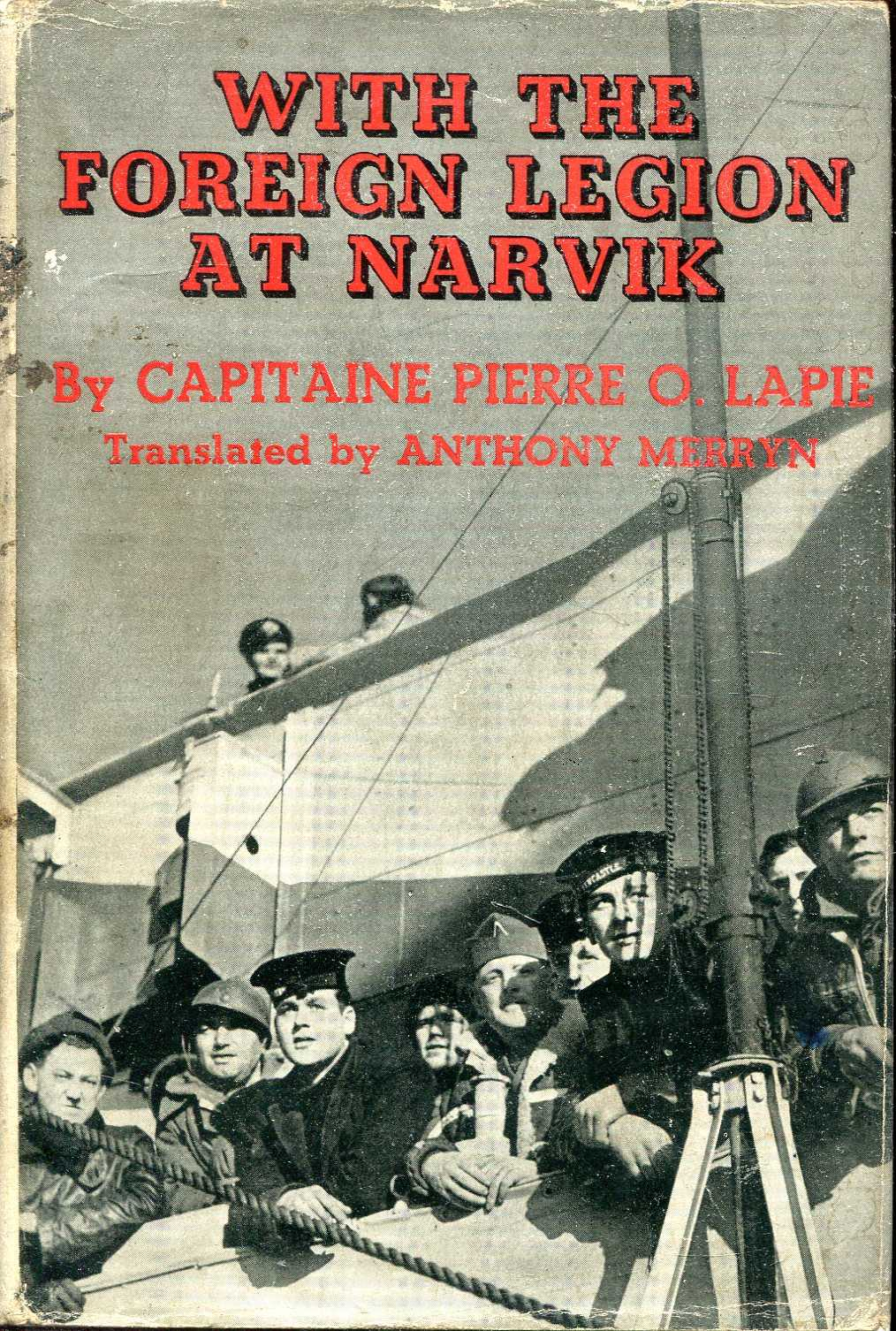 Image for With the Foreign Legion at Narvik