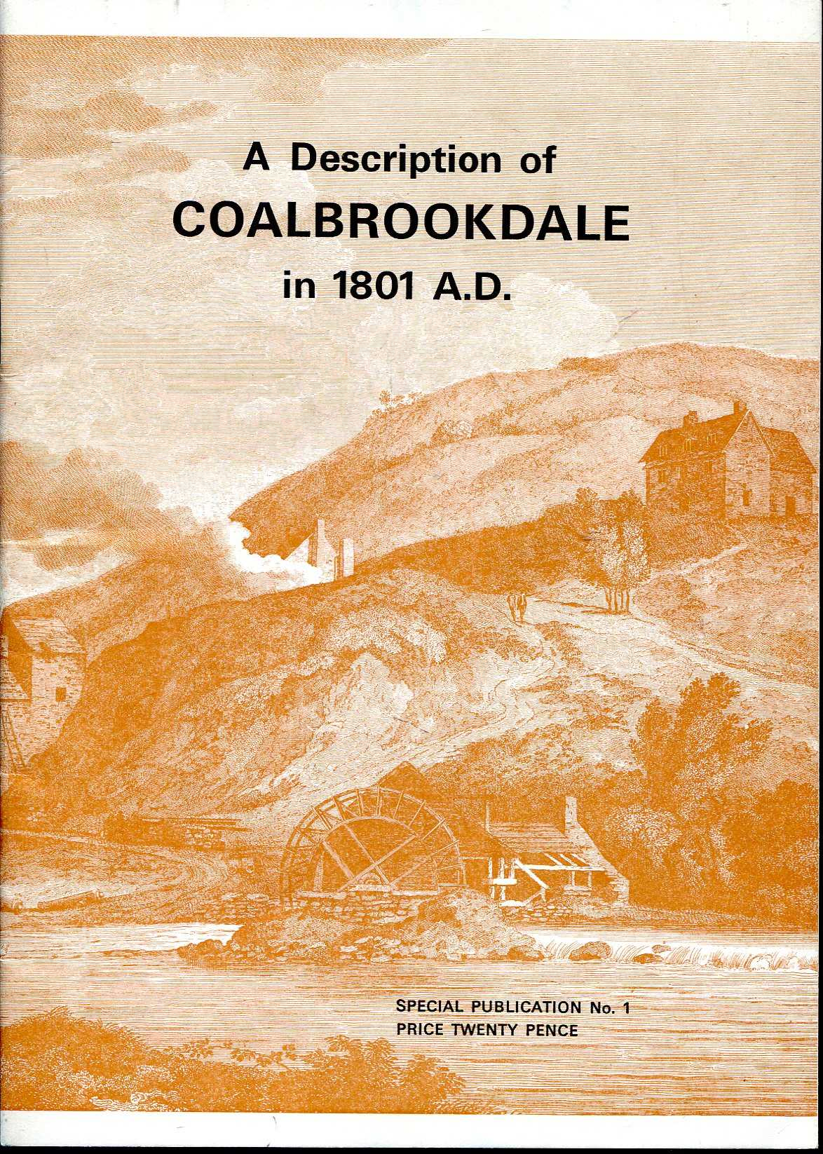 Image for A Description of Coalbrookdale in 1801 AD