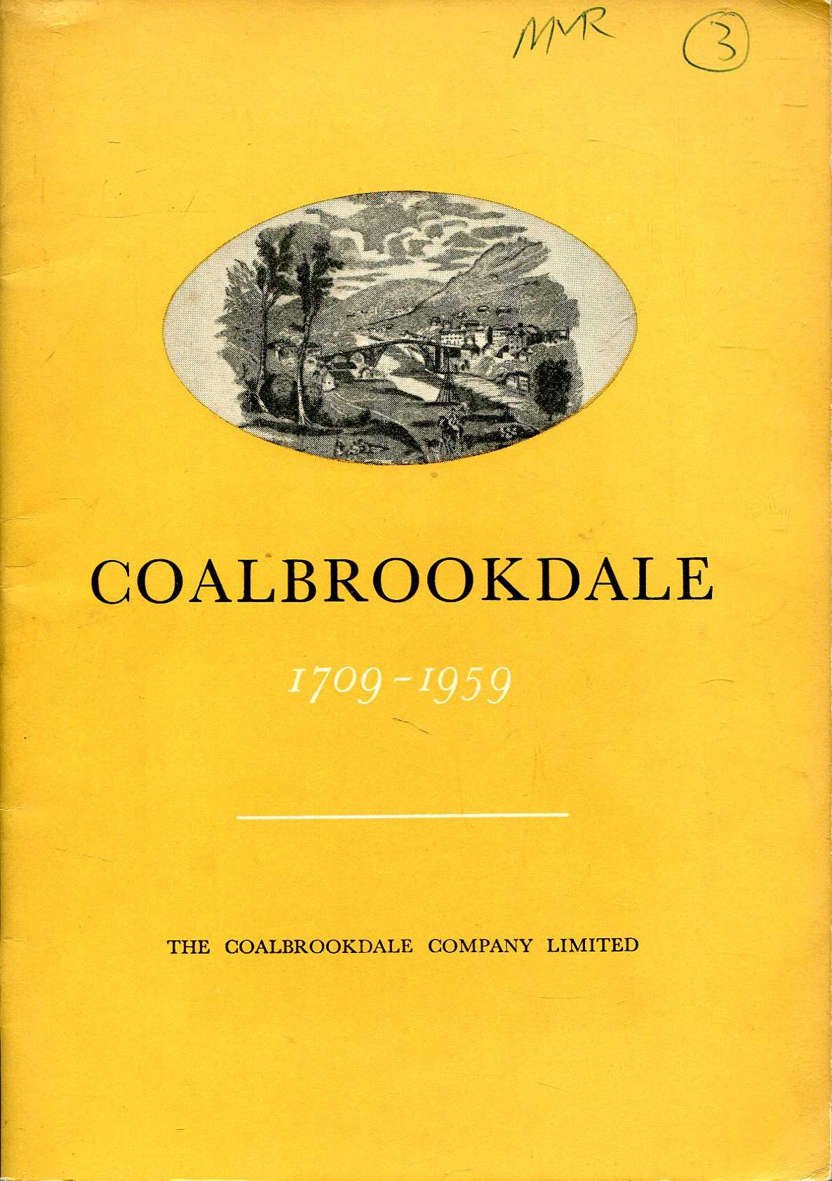 Image for Coalbrookdale 1709-1959