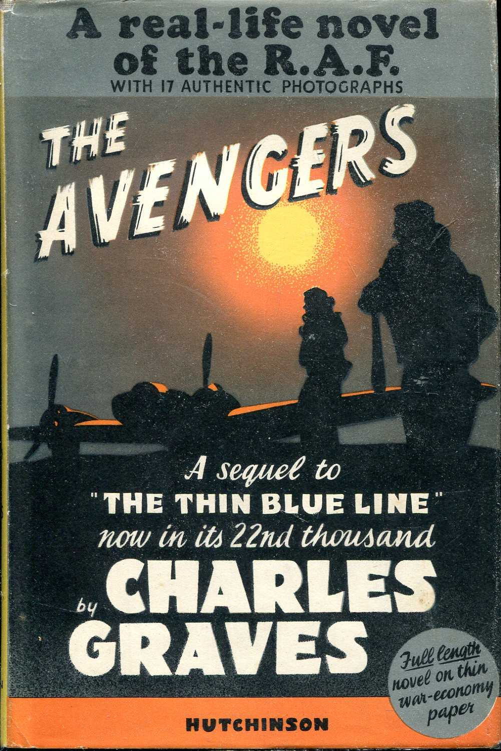 Image for The Avengers : a real-life novel of the R.A.F.