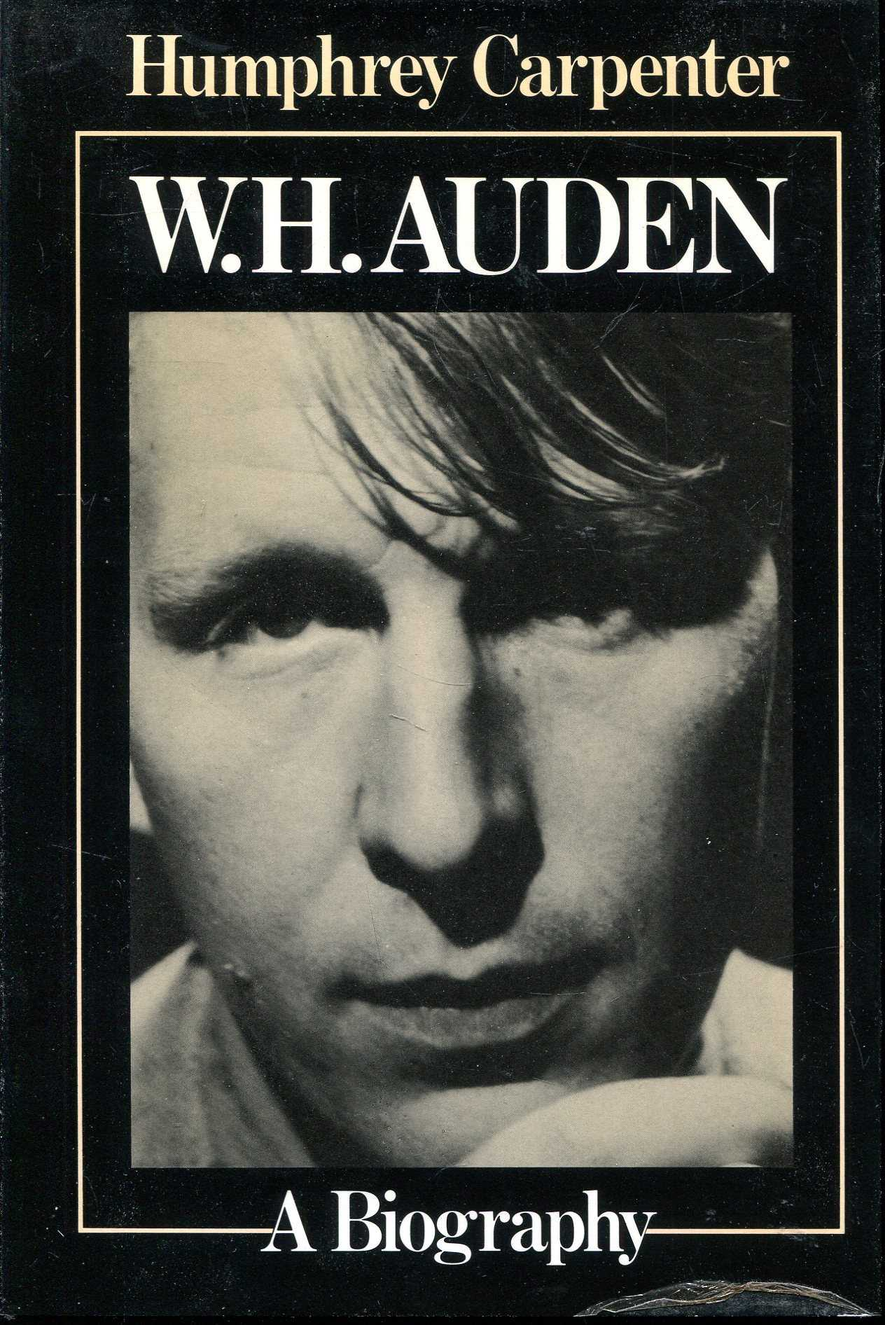 Image for W.H Auden, a biography