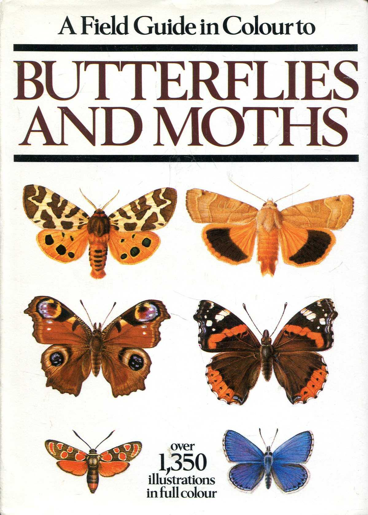 Image for A Field Guide in Colour to Butterflies and Moths