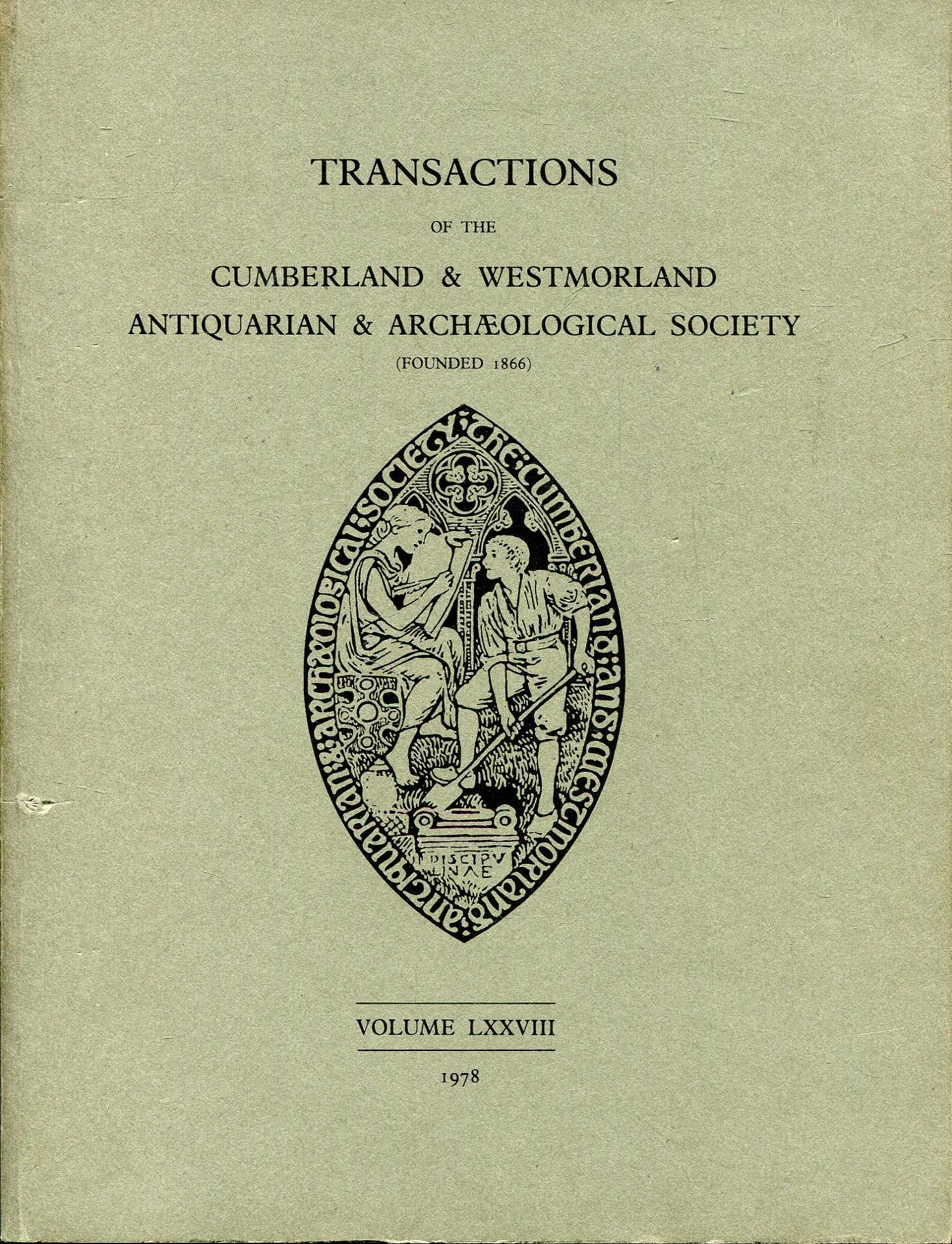 Image for Transactions of the Cumberland & Westmorland Antiquarian & Archaeological Society volume LXXVIII (78)