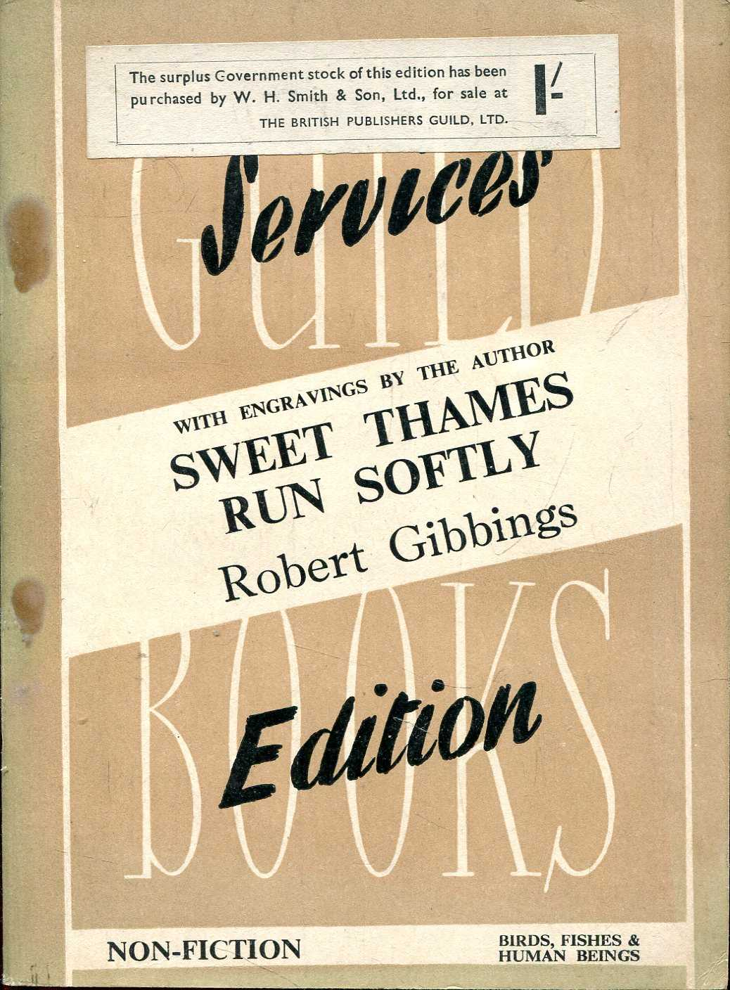 Image for Services Edition  Guild Books No. S100 : Sweet Thames Run Softly